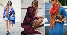 moda şal takma stiller ve kombinleri 2015 | Kadinveblog
