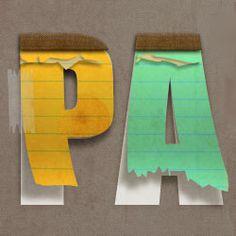 Create a Paper Text in Photoshop psd-dude.com Tutorials