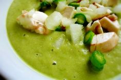 Raw Asparagus Soup #vegan