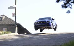 Iconic Ford Mustang chase scene re-enacted on FOX