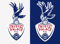 New crest for Crystal Palace FC - Sports Logos - Chris Creamer's ...