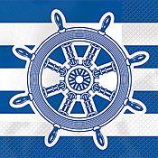 Ship's Wheel Premium Beverage Napkins