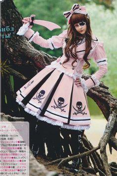 pirate lolita  ♥ sweet lolita, fairy kei, decora, lolita, loli, gothic lolita, pastel goth, victorian, rococo ♥