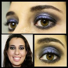 Snow Globe Makeup! If you want to know how to do this makeup watch the tutorial:  www.facebook.com/acurtosmakeup  #makeuartist #makeup #mua #snowglobe #purplesnowglobe #purplemake #purplemakeup #amethystmakeup #maquiagem #maquiagemroxa #ametistametalico #contem1g #palpebraluz #maquiagempalbebraluz