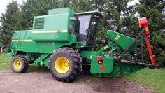 1998 John Deere 1170 Combine Harvester, Harvest Time, Tractors, Tractor