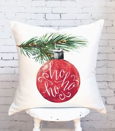 Where You Can Buy the Best Cheap Christmas Pillow Covers Now Cheap Christmas, Christmas Art, Handmade Christmas, Christmas Decorations, Christmas Ornaments, Holiday Decor, Xmas, Handmade Pillow Covers, Handmade Pillows