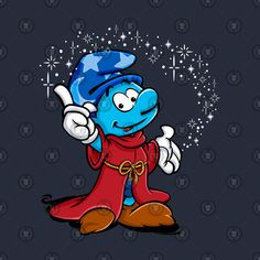 Smurfette, Disney, Fictional Characters, Art, The Smurfs, Drawing Drawing, Art Background, Kunst, Performing Arts