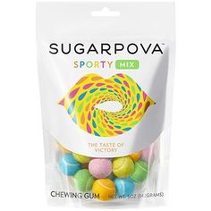 Sugarpova Sporty Tennis Ball Gum