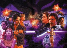 Star Wars - The New Jedi Order: Edge of Victory: Rebirth Cover by Tsuyoshi Nagano.