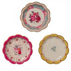 Truly Scrumptious Cake Paper Plates $7.50 for 12