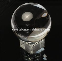 Clear crystal ball crystal glass ball for home decoration