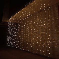 AGPtek® 3M x 3M 300 LED Linkable Design Fairy String Curtains Light Ideal for Indoor Outdoor Home Garden Christmas Party Wedding - Warm White AGPtEK http://www.amazon.com/dp/B00OK5OXU4/ref=cm_sw_r_pi_dp_RnWxwb0J3EANF