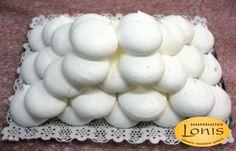 Μπεζέδες μαστίχα - Ζαχαροπλαστείο Lonis - www.lonis.gr Stuffed Mushrooms, Eggs, Vegetables, Breakfast, Food, Stuff Mushrooms, Morning Coffee, Essen, Egg