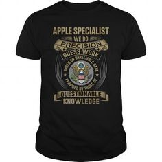 APPLE SPECIALIST - WE DO NEW #sunfrogshirt #PPAP #Applepen thanks visit