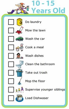 Chores are a great way to teach responsibility, as well as a ton of important life skills. Many parents aren't sure what to expect of their kids, so here is a good list of chores that most year olds can learn. Kids And Parenting, Parenting Hacks, Parenting Styles, Peaceful Parenting, Gentle Parenting, Parenting Plan, Foster Parenting, Teaching Kids, Kids Learning