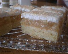 jablkový koláč s kokosom - vyskusany a velmi lahodny a stavnaty. Cesto som urobila moje overene trene... Doporucujem...