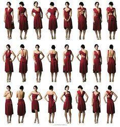 Robe multiposition/ infinity dress