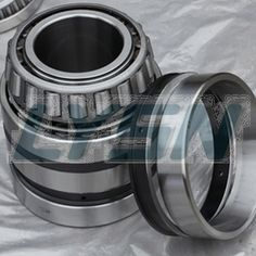 will produce an axial force component, so when you need another can withstand the axial force in the opposite direction of the bearing to be balanced