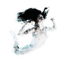 Frozen Underwater Portraits By Olive Santaoloria