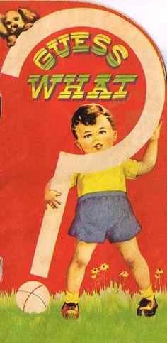 Children Books, Vintage Children, Childhood Images, Big Words, Graphics Fairy, Question Mark, Vintage Ephemera, Dit, Illustrations And Posters