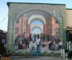 City of Philadelphia Mural Arts Program; Courtesy of muralist Jonathan Laidacker