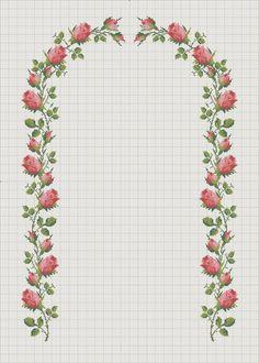 Discover thousands of images about İsim: Görüntüleme: 1331 Büyüklük: KB (Kilobyte) Tiny Cross Stitch, Cross Stitch Borders, Cross Stitch Flowers, Cross Stitch Charts, Cross Stitch Designs, Cross Stitching, Cross Stitch Embroidery, Hand Embroidery, Cross Stitch Patterns