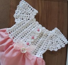 Crochet Toddler Dress, Crochet Baby Dress Pattern, Crochet Fabric, Crochet Girls, Crochet Baby Clothes, Crochet Motif, Crochet For Kids, Crochet Lace, Crochet Stitches