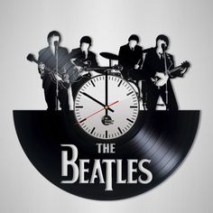 The Beatles Handmade Vinyl Record Wall Clock Fan Gift - VINYL CLOCKS