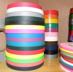 """1/2"""" Gaffers Hula Hoop Grip Tape - 30 ft - All Colors and Neons to Choose From. $3.99, via Etsy."""