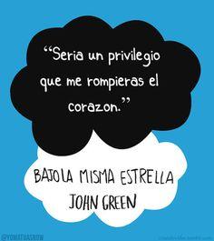 Libros de John Green 2014 | Bajo la Misma Estrella Pelicula