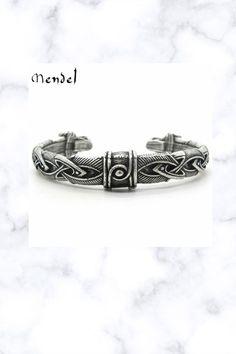 Viking Arm Ring Fenrir Wolf Head Cuff Bangle Bracelets For Men, Bangle Bracelets, Bangles, Viking Arm Rings, Viking Series, Norse Vikings, Fantasy Jewelry, Celtic, Wolf