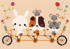 Illustration {digital} by Luli Bunny, via Behance
