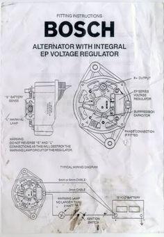 Bosch Internal Regulator Alternator Wiring Diagram