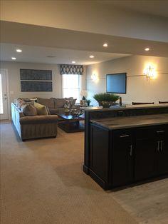 Basements | Basement / Living Space | Pinterest | Basements, Living Spaces  And Spaces.