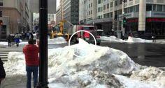 Os Que Vivem Em Zonas De Muita Neve Iriam Adorar Ter Uma Máquina Como Esta