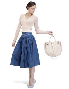 Cache-cœur Blanca Rose chausson