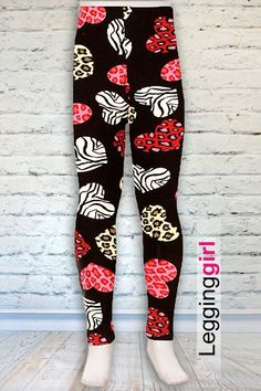 fcb082268b1190 Wild at Heart - Kids $14 #legginggirl #christinascornerboutique  #valentinesday #hearts #animalprint