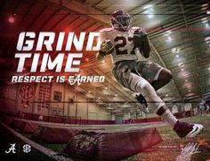 Grind Time...Respect is Earned