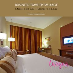 Enjoy our special Turyaa deals on our Business Traveler Package.