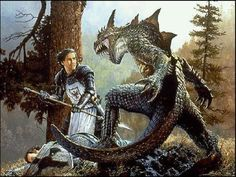 Does a Knight go without Armour to fight the Dragon. No he doesn't the same is Applied to us we should wear the Armor of God to fight off the Devil,he is referred to as the Dragon.