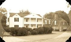 Mount Airy mansion house, now part of Rosaryville State Park in Maryland.