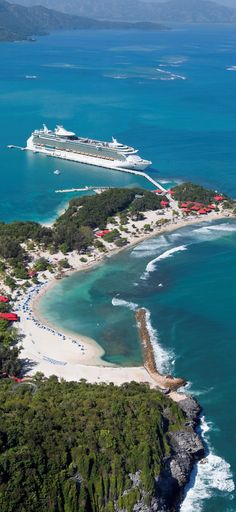Dream vacation. Navigator of the Seas in Labadee. #caribbean