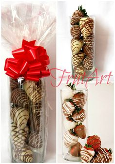 Chocolate Covered Strawberries Ideas Gift Ideas in 2020 Chocolate Dipped Strawberries, Chocolate Covered Strawberries, Homemade Chocolate, Hot Chocolate, Strawberry Dip, Strawberry Shortcake, Chocolate Bouquet, Edible Arrangements, Candy Bouquet
