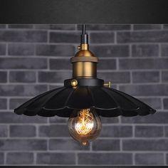 Retro Industrial Iron Vintage Loft Ceiling light Chandelier Pendant Lamp Fixture