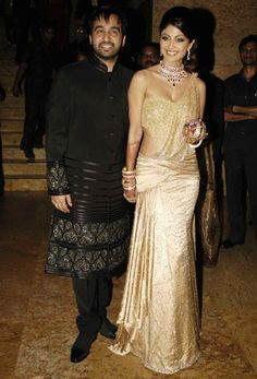 Shilpa Shetty's star-studded wedding reception - Rediff.com