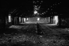 Photographs of the Oakwell Brickworks, Ilkeston - The Hoffman Kiln, Oakwell Brickworks, Ilkeston #10