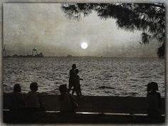 evening walk....~