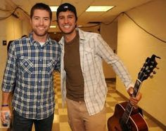 Josh Turner & Luke Bryan in the same spot and time?! Time has stopped, I think!