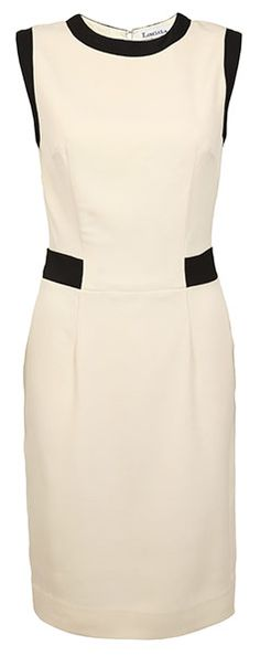 Channel some Parisian chic with this simple shift dress. It's classic Coco Chanel and when can that ever be a bad thing?