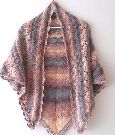 Handmade Crochet ShawlLacy crochet stolaChristmas gift